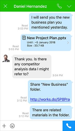 Send/Share files