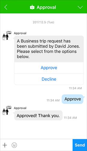 Approval Bot (Sample)