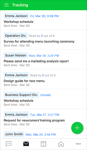 Track emails