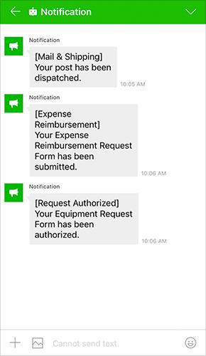 Notification Bot (Sample)