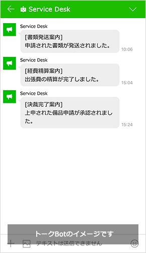 サービスデスクBot (例)