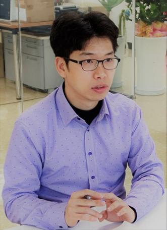 ▲ 오픈갤러리 곽진열 경영지원 담당자
